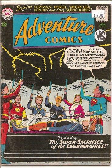 Adventure Comics # 312, 4.0 VG