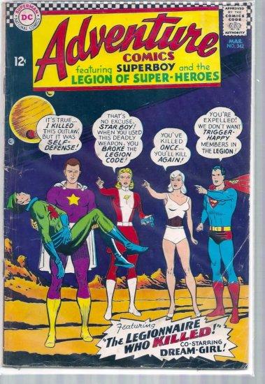 ADVENTURE COMICS # 342, 3.5 VG -