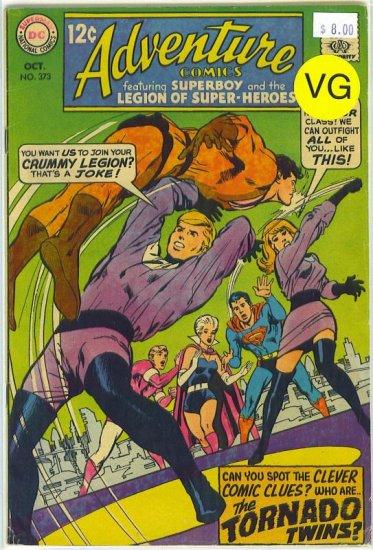 Adventure Comics # 373, 4.0 VG