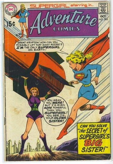 Adventure Comics # 385, 3.0 GD/VG