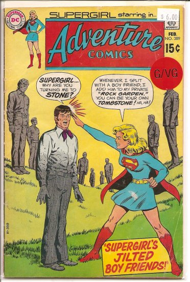 Adventure Comics # 389, 3.0 GD/VG