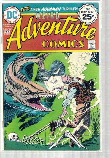 ADVENTURE COMICS # 437, 6.0 FN