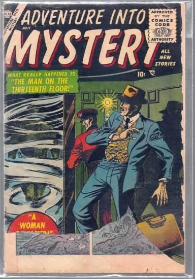 ADVENTURE INTO MYSTERY # 2, 1.8 GD -