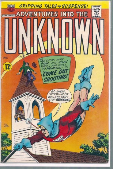 ADVENTURES INTO THE UNKNOWN # 165, 4.5 VG +