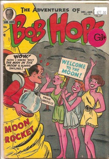 Adventures of Bob Hope # 24, 2.5 GD +
