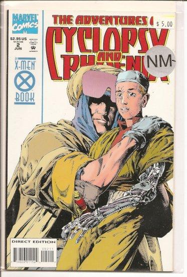 Adventures of Cyclops and Phoenix # 2, 9.2 NM -