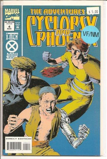 Adventures of Cyclops and Phoenix # 4, 9.0 VF/NM
