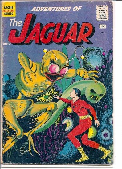 ADVENTURES OF THE JAGUAR # 2, 3.0 GD/VG
