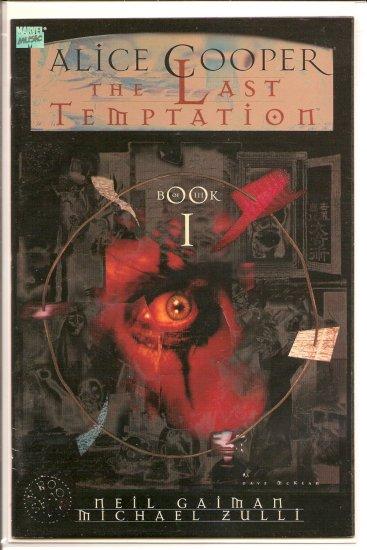 Alice Cooper The Last Temptation Book 1 # 1, 8.0 VF