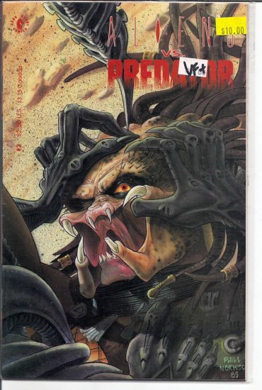 Aliens Vs. Predator # 2, 8.5 VF +