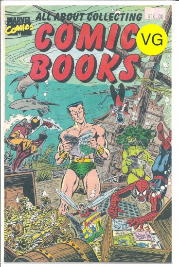 All About Collecting Comic Books # 1, 4.0 VG