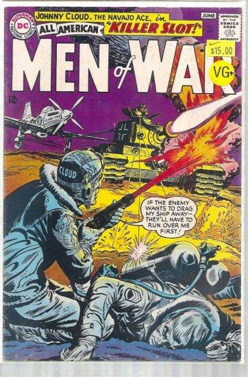 ALL AMERICAN MEN OF WAR # 109, 4.5 VG +