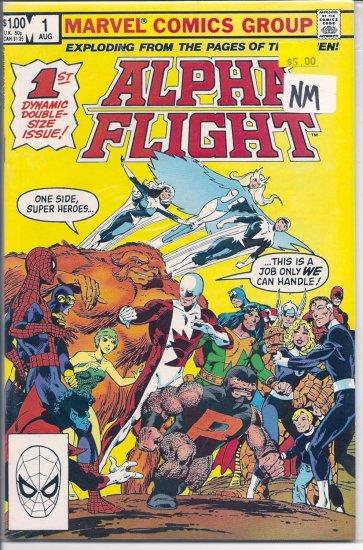 Alpha Flight # 1, 9.0 VF/NM