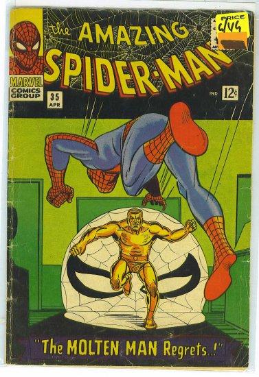 Amazing Spider-Man # 35, 3.0 GD/VG