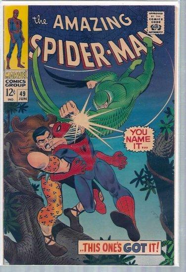 AMAZING SPIDER-MAN # 49, 5.5 FN -