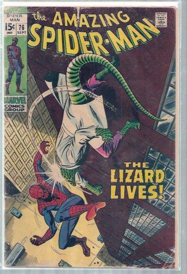 AMAZING SPIDER-MAN # 76, 2.5 GD +