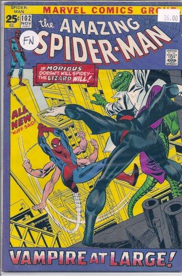 Amazing Spider-Man # 102, 6.0 FN