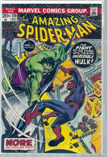 AMAZING SPIDER-MAN # 120, 9.0 VF/NM