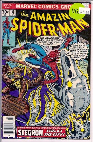 Amazing Spider-Man # 165, 4.0 VG