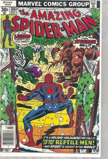 AMAZING SPIDER-MAN # 166, 6.5 FN +