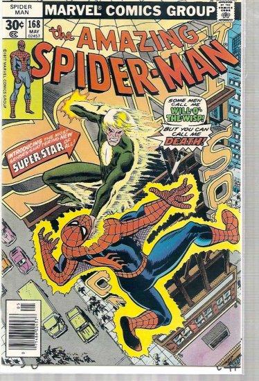 AMAZING SPIDER-MAN # 168, 6.0 FN