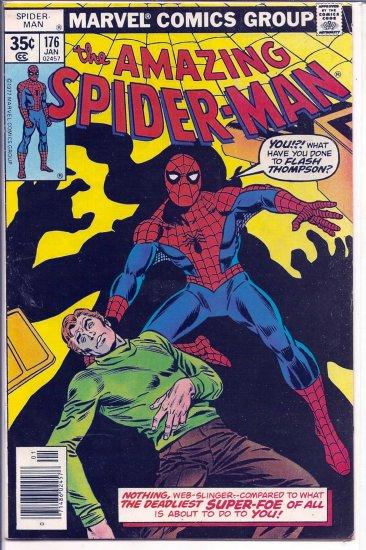 AMAZING SPIDER-MAN # 176, 4.5 VG +