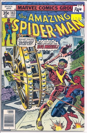 Amazing Spider-Man # 183, 6.5 FN +