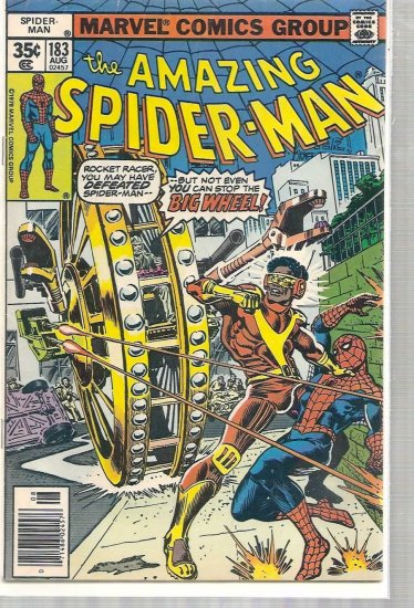 AMAZING SPIDER-MAN # 183, 4.0 VG