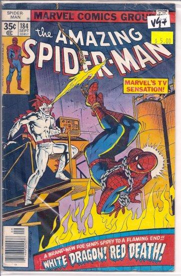Amazing Spider-Man # 184, 4.5 VG +