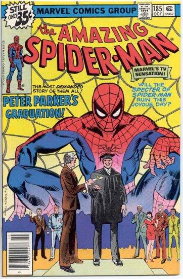 Amazing Spider-Man # 185, 7.0 FN/VF