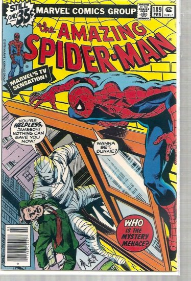 AMAZING SPIDER-MAN # 189, 6.0 FN