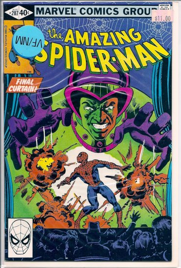 Amazing Spider-Man # 207, 9.0 VF/NM