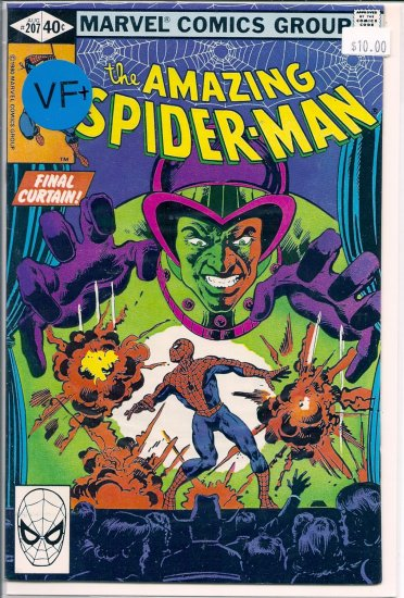 Amazing Spider-Man # 207, 8.5 VF +