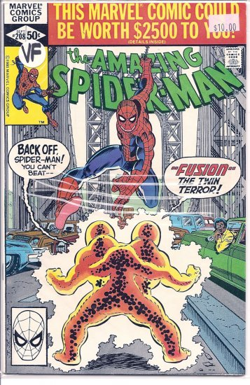 Amazing Spider-Man # 208, 8.0 VF