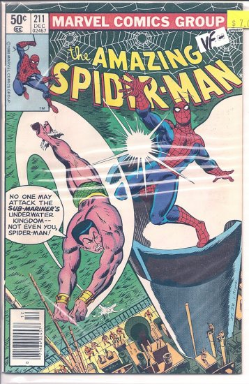 Amazing Spider-Man # 211, 7.5 VF -