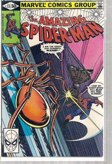 AMAZING SPIDER-MAN # 213, 6.5 FN +