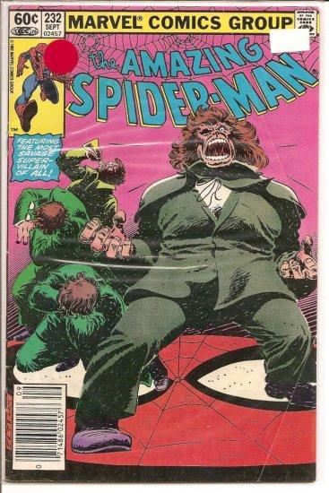 Amazing Spider-Man # 232, 2.0 GD