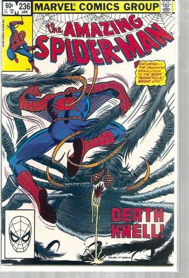 AMAZING SPIDER-MAN # 236, 8.5 VF +