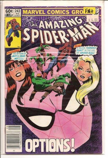 Amazing Spider-Man # 243, 6.5 FN +