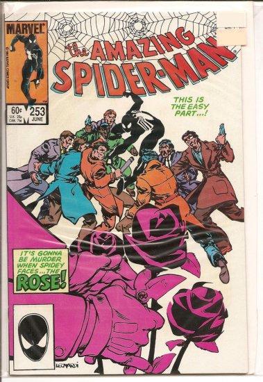 Amazing Spider-Man # 253, 8.0 VF
