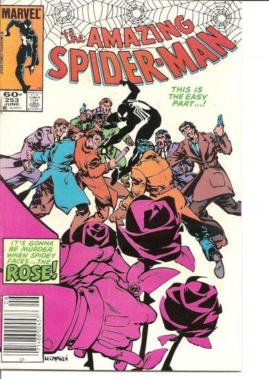 Amazing Spider-Man # 253, 7.5 VF -