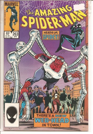 Amazing Spider-Man # 263, 9.2 NM -