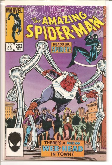 Amazing Spider-Man # 263, 8.0 VF