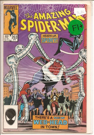 Amazing Spider-Man # 263, 6.5 FN +