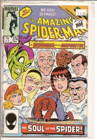 Amazing Spider-Man # 274, 7.0 FN/VF
