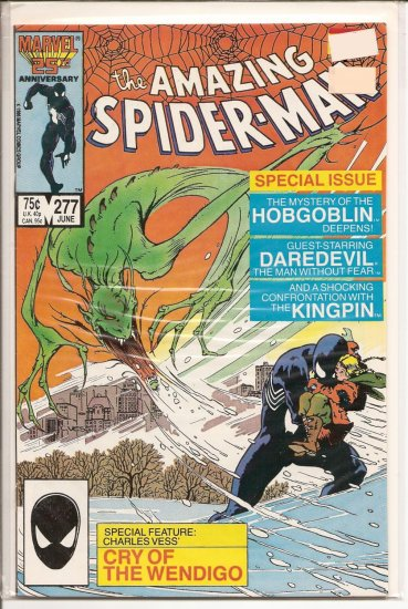 Amazing Spider-Man # 277, 8.5 VF +