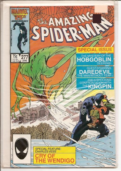Amazing Spider-Man # 277, 8.0 VF