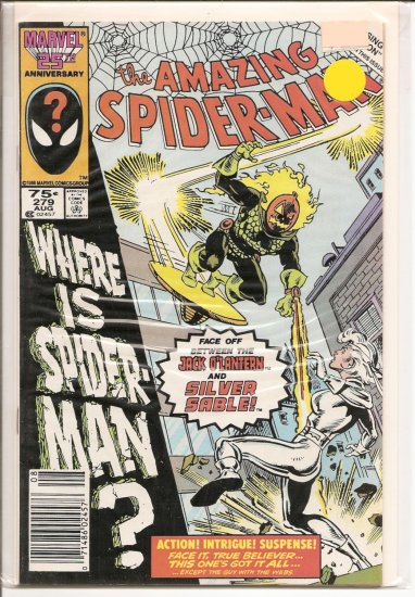 Amazing Spider-Man # 279, 8.5 VF +