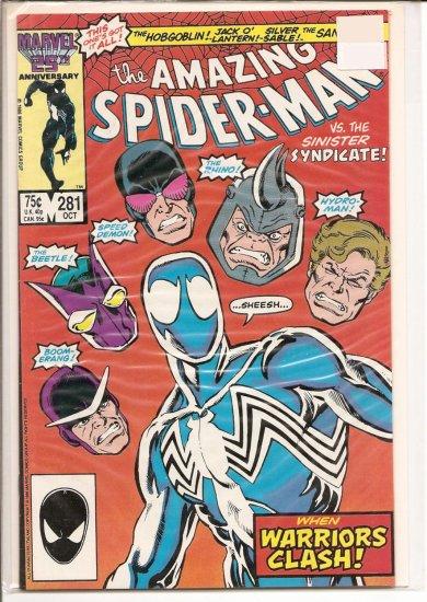 Amazing Spider-Man # 281, 8.5 VF +