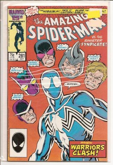 Amazing Spider-Man # 281, 8.0 VF
